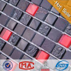 ljo jtc-1322 badkamer zwarte natuursteen tegel zwart glitter vloer tegels mix rood en zwart glas mozaïek tegel-mozaïeken-product-ID:1737115778-dutch.alibaba.com