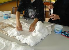 creating habitats and other art lessons