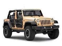 JK Tailgate Vent Cover Jeep Wrangler /'07-/'16 WRANGLER//SKULL DESIGN Black