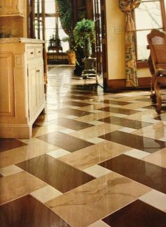 Beautiful flooring.could I combine these ideas