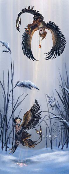 Harpy by jen-and-kris.deviantart.com on @DeviantArt