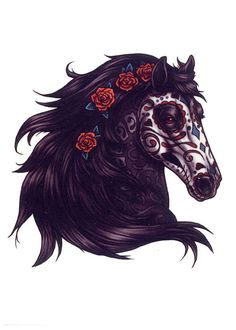 day of the dead horse - Google Search