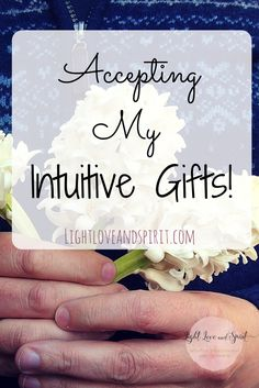 Accepting intuitive gifts is hard for some, especially those who are extremely logical. Everything changes however when you do!