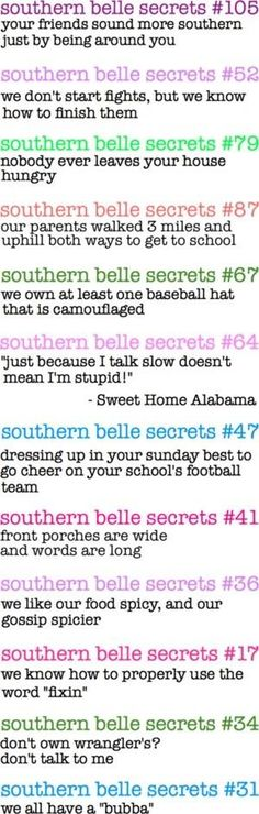 """Southern Belle Secrets"" by lourdes"