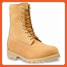 """Timberland Men's Classic 8"""" Basic Boot,Wheat Nubuck Leather,US 13 W - Outdoor shoes for women (*Amazon Partner-Link)"""