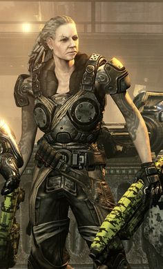 Bernie - Gears of War 3, i love bernie she is so the kind of old woman i want to be