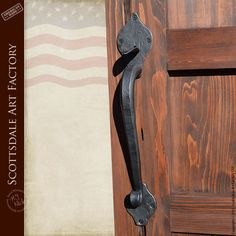 Custom Door Handles - Hand Forged Iron Lever Action - LLP4567 - Iron door pulls and handles - rustic old world style charm - handcrafted by master blacksmiths with fine art patina finished