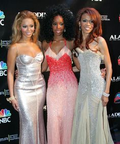 Destiny's Child - Beauties Beyonce Knowles, Kelly Rowland, & Michelle Williams / Oct. 25, 2004