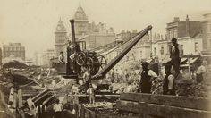 Paddington 1867 construction. Historic images of the London Underground released for the first time | London - ITV News