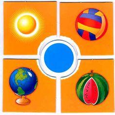 Геометрические фигуры, формы и цвета