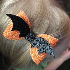 Ribbon Hair Bows, Diy Hair Bows, Diy Bow, Ribbon Flower, Fabric Flowers, Halloween Accessories, Diy Hair Accessories, Wedding Accessories, Halloween Hair Bows