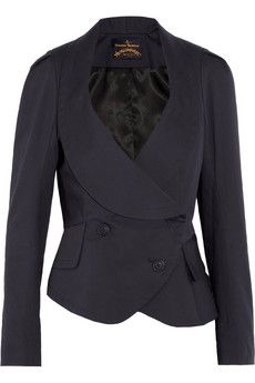 Vivienne Westwood Anglomania Tempest de Corps stretch-cotton blend jacket £333.33
