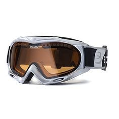 4bbb6e5d6ee2 Bloc Shimmer Ski Snowboard Goggles Silver