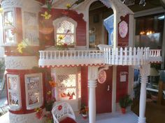 Barbie House OOAK Fashion Royalty Victorian House with Furniture Accessories | eBay
