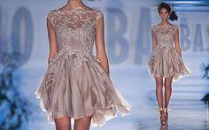 vestido de noiva curto rosa
