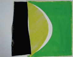Terry frost Example Of Abstract, Abstract Images, Abstract Art, Green Paintings, Paintings I Love, British Paints, Hard Edge Painting, Painter Artist, Shape Art