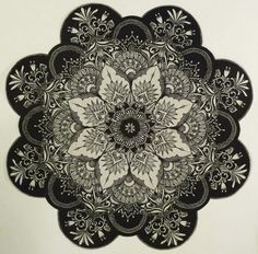 Mandala tattoo - oh my god. this is so beautiful.
