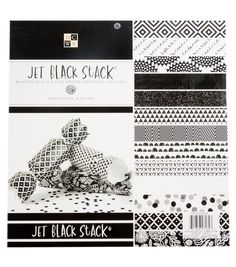 "DCWV 12""x12"" Premium Stack: Jet Black"