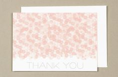 Free Sequins Thank You Notes