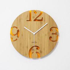 90 best creative wall clock images creative walls bamboo wall rh pinterest com