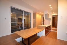 ダイニングキッチン Divider, Deck, Kitchen, Room, Furniture, Home Decor, Bedroom, Cooking, Decoration Home