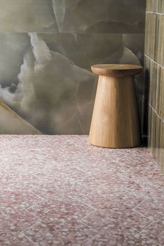 Zappa Pink Porcelain Pink Bathroom Tiles, Loft Bathroom, Best Bathroom Designs, Bathroom Ideas, Mandarin Stone, Large Format Tile, Outdoor Tiles, Zappa, Hexagon Tiles
