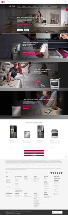 LG ThinQ™ connected appliances include dishwashers, ranges, refrigerators and more, changing the way you run your home and your life. Slide In Range, Air Care, All Refrigerator, Control Key, Smart Home Technology, Smart Kitchen, Google Home, Future House, Laundry Room