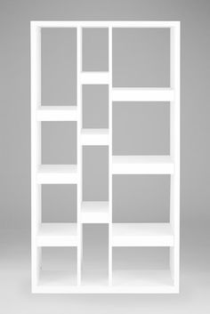 Get organised with these White Valencia Tall Shelves to make your home neat and tidy Tall Shelves, White Shelves, Bookcase Shelves, Corner Shelves, Shelving, Bookcases, Drinks Cabinet, Flat Ideas, Neat And Tidy
