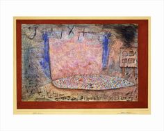 Opera Auditions by Paul Klee