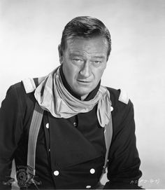 John Wayne in The Horse Soldiers