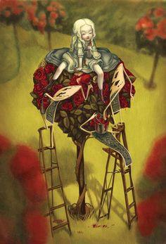 Alice in Wonderland by Benjamin Lacombewebsite l instagram l FB