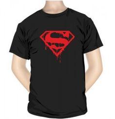 T-shirt imprimé : SUPER SAIGNANT MAN (Man of Steel) http://simedio.fr