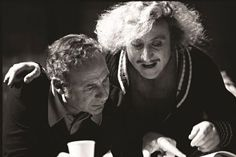 "Mel Brooks & Gene Wilder sul set di ""FRANKSTEIN JUNIOR"" - <3"