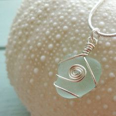 Beach shack Project sea glass jewellery. This serene and simple look makes even tees look elegant. Eternal tools loves it.