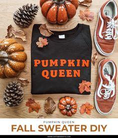 Autumn Diys, Fall Diy, Fall Sweaters, Pumpkin, Queen, Pumpkins, Squash