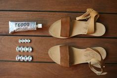 These DIY Sandals Are Too Cute
