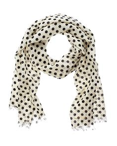 Kate Spade's Polka Dot Scarf - Having a Moment: 7 Scarves to Transform Your Look - What's Right Now - Fashion - InStyle