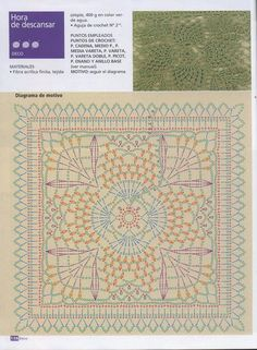 Materiales gráficos Gaby: Patrones de mantas en ganchillo