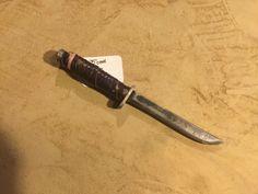 Brown handled high carbon single edge knife http://www.mylaforge.com/store/brown-handled-high-carbon-single-edge-knife