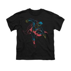 Superman - Neon Superman Youth T-Shirt