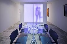 Philips luminous textile panels have been developed by Philips in conjunction with Kvadrat Soft Cells