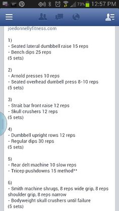 Joe Donnelly workout