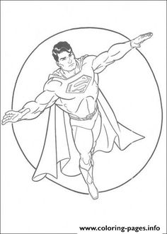 superman color page, cartoon characters coloring pages, color ... - Printable Coloring Pages Superman