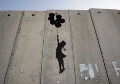 banksy in palestine