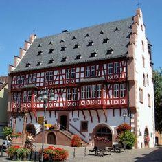 Hanau, Germany  Goldschmiedehaus ~ I bought a Hanau Rose here in 1979 & still have it. <3