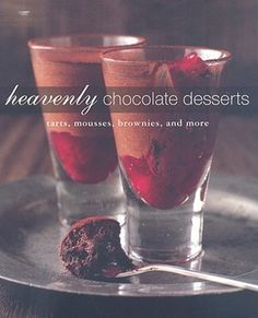 641.6347 HEA The only book you'll ever need to make all your favorite chocolate deserts - from brownies and cheesecakes to tarts and ice cream.
