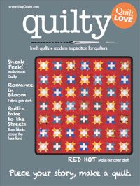 FREE Quilt pattern and 16 page preview of the summer issue.  Great articles and quilting inspiration.  Beginner quilters welcome! :)