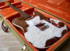 Fender 'Texas Rawhide' Custom Telecaster Tele Edition Genuine Texas Hide