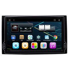 7 Android Audio Radio Car Stereo Dvd Gps Naivgation Head Unit Sat