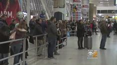Windy, Wintry Weather Cause Delays At Airports Across The Country - CBS New York